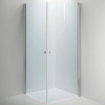 Suihkunurkkaus LINC Angel, kirkaslasi/valkoinen, eri kokoja