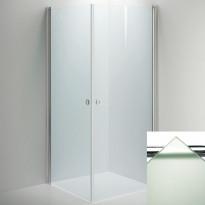 Suihkunurkkaus LINC Angel, frost lasi/valkoinen, eri kokoja