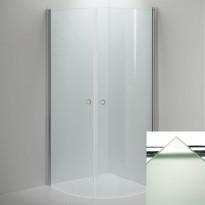 Suihkunurkkaus LINC Niagara, frost lasi/valkoinen, eri kokoja