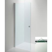 Suihkuseinä LINC Angel ovi, kirkaslasi/kiiltävä, 700mm, Verkkokaupan poistotuote