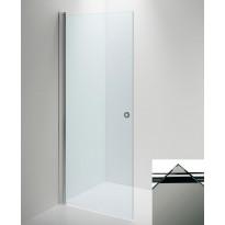 Suihkuseinä LINC Angel ovi, savu lasi/valkoinen, eri kokoja