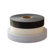 Tiivistenauha, 50mmx1mm, 50 m/rulla, harmaa tai musta