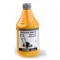 Moottoriöljy Stiga 4-t SAE 30 0,6l