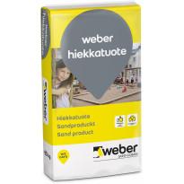 Puhallushiekka Weber 0,5-2 mm 20 kg