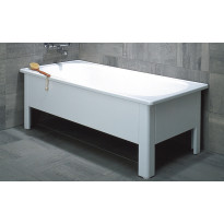 Kylpyamme Emaliamme 130x70cm, valkoinen