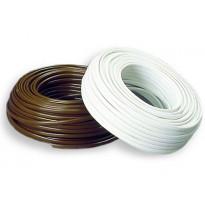 Asennuskaapeli Sunwind 2 x 4mm², 50m rulla, valkoinen