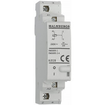 Sysäysrele Malmbergs 1 sulkeutuva kosketin 16A 230V