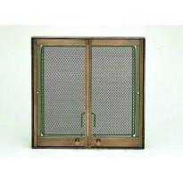 Takkaluukku Suora, 470 x 470mm, kulta