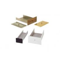 Tuhkalaatikko 130x80x450mm, eri värivaihtoehtoja
