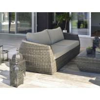 Lounge-sohva Hillerstorp Tara, 3-istuttava, harmaa