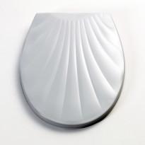 WC-kansi New Shell, valkoinen