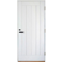 Varaston ovi Aarni Umpi 9-10x19-21 karmi 92mm, valkoinen