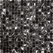 Marmorimosaiikki Nero Marquina PM, 305x305mm