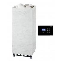 Sähkökiuas Rae 105, 10,5kW (9-15m²), erillisellä ohjauskeskuksella, marmori