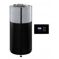 Sähkökiuas Tulikivi Naava 105 integroitu 10.5kW, 9-15m³, vuolukivi, erillinen ohjauskeskus