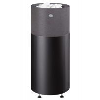 Sähkökiuas Kuura 1 90 integroitu, 9,0kW (8-13m³) valukivi, erillinen ohjauskeskus, musta