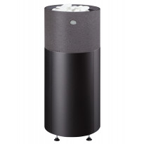 Sähkökiuas Kuura 1 105 integroitu, 10,5kW (9-15m³), erillinen ohjauskeskus, valukivi, musta