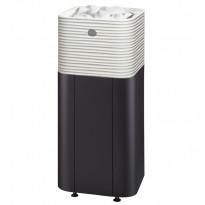 Sähkökiuas Huurre 68 integroitu, 6,8kW (5-9m³), erillinen ohjauskeskus, valukivi, integroitu, valkoinen