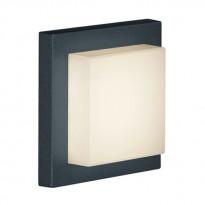 Katto/seinävalaisin Hondo, 3,5W LED, IP54, musta
