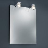 Klipsuspotti Trio 2819 2kpl, LED 2x3W, IP44, kromi/kirkas