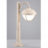 Pylväsvalaisin Verdon, 6W LED, IP44, 50cm, antiikinvalkoinen
