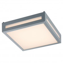 Katto/seinävalaisin Newa, 2x4W LED, IP54, harmaa