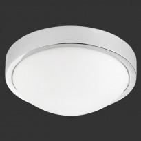Kattoplafondi Trio 6805, LED 18W, IP44, kromi/valkoinen