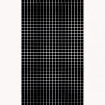 Välitilan laminaatti Berry Alloc, musta 7359, kuvio 3x3cm, levy 3x600x1200mm