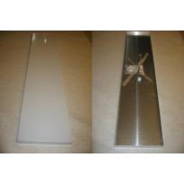 Kasvihuoneen seinähylly, 150x25cm (2kpl)