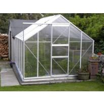 Kasvihuone 128, 10m², kennolevyllä + kennon kiinnityslistat