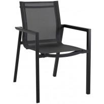 Tuoli Delia 2652-80-81, pinottava, musta