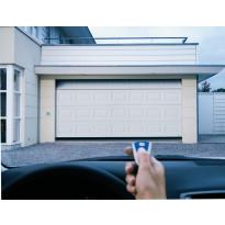 Autotallin nosto-ovi Turner 830, 2500x2125 mm, peilikuvio puunsyykuvio