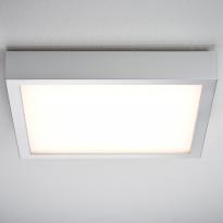 LED-seinä-/kattovalaisin Paulmann Space 1x16.5W 300x300 mm mattakromi/valkoinen