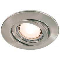 Upotettava LED-valaisinsetti Quality Line, 92024,  3x3,5W, harjattu teräs, käännettävä