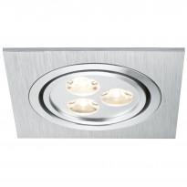 Uppovalaisin Premium Line Aria LED 92532, 3x3W, käännettävä, harjattu teräs