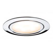 LED-kalustevalaisinsetti Paulmann Micro Line 3x4,5W Ø 65 mm 3 kpl kromi