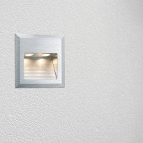 Uppovalaisin Special Line Quadro LED 93753, 2W, harjattu teräs