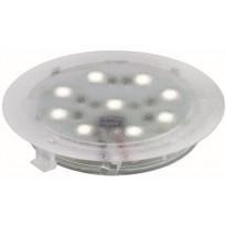 LED-alasvalosetti Paulmann Special Line UpDown light 6x1W 6500K Ø 45 mm läpinäkyvä