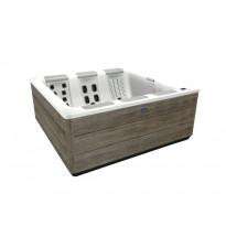 Ulkoporeallas Villeroy & Boch Design Line Just Silence S + Design Stereo, vaaleanharmaa
