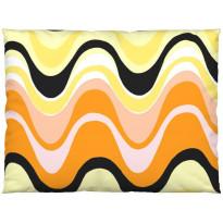 Tyynynpäällinen Vallila Aalto, 80x60cm, keltainen/oranssi