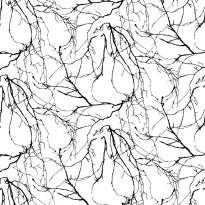 Kuitutapetti Oksat, musta, 4978-4, 0,53 x 11,2m (5,9m²)