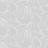 Kuitutapetti Oksat, harmaa, 4978-2, 0,53 x 11,2m (5,9m²)