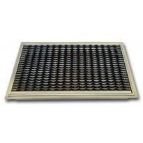 Kura-allas Kuris, 500x800mm, Apollo-kumialumiinimatolla, musta