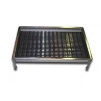 Kura-allas Pintakuris, 500x800mm, yksinkertainen reuna, musta