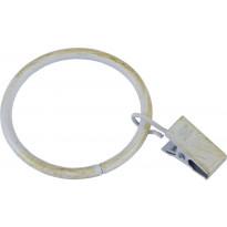 Verhorengas Pisla, Ø40/47mm, valkoinen/kulta, 10kpl