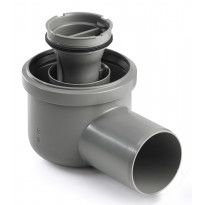 Viemärikaivo kulma 2411 vaaka 75mm vesilukolla Unidrain