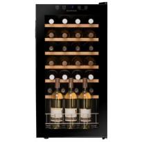 Viinikaappi Dunavox DXFH2888, 43x83x48cm, musta