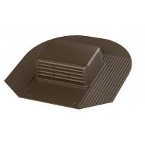 Kattotuuletusventtiili Vilpe-KTV/harja, ruskea