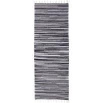 Käytävämatto VM Carpet Ritirati, eri kokoja, musta-valkoinen