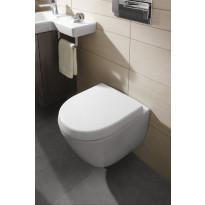 WC-istuin Subway 2.0, Suprafix-kiinnitys, lyhyt malli, Ceramicplus